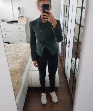 3 Suisses Denim Jacket petrol-sage green
