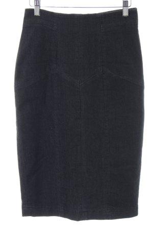 3 Suisses Denim Skirt black business style