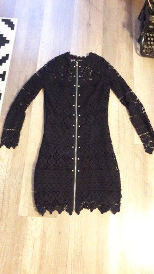 3 Suisses Kleid Spitze mit Unterkleid Lace Spitzenkleid Gothic Emo Grunge Sexy S