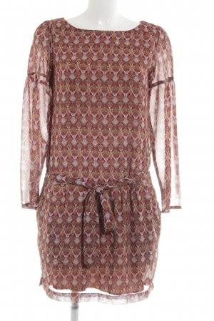 3 Suisses Longsleeve Dress allover print party style