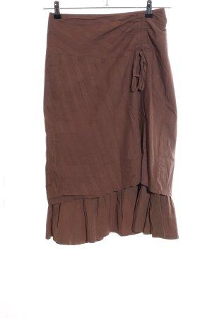 3 Suisses Midi Skirt brown casual look