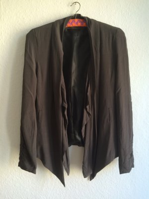 3 Suisses Blazer grey-dark grey viscose