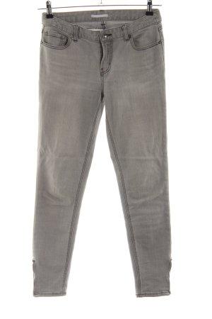 3 Suisses Slim Jeans light grey casual look