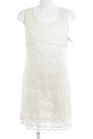 3 Suisses Lace Dress cream romantic style