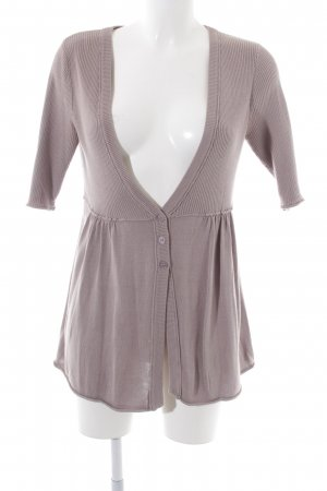 3 Suisses Knitted Cardigan light grey casual look