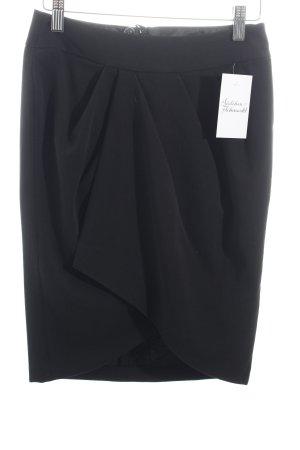 3 Suisses Falda tulipán negro estilo clásico