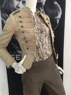 3 teile outfit Designer best Connection Bluse snake Print und Jacke ital Boutique Uniform