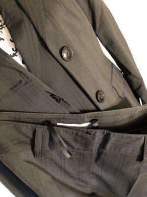 More & More Traje de pantalón negro-gris antracita
