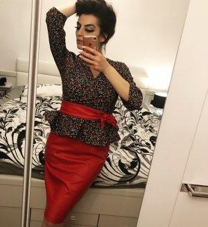 3-teiliges set kostüm in rot bunt von carlino richie