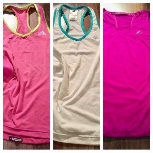 3 x Adidas Sport Shirts XS
