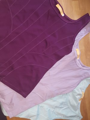3 x BIBA Top Shirt lila flieder mint Gr. M    neu