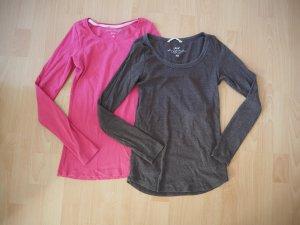 3 x longsleeve sweater leichte Pullover