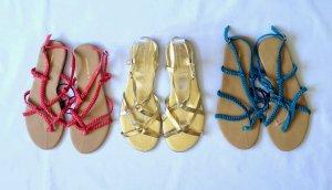 3 x Sandaletten Gr. 38 zusammen New