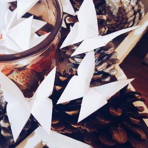 30 Origami Schmetterlinge