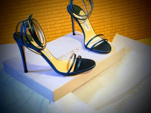 Jimmy Choo High Heel Sandal blue