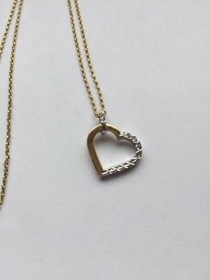 Tchibo / TCM Catena d'oro argento-oro
