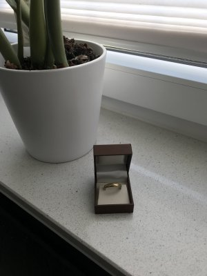 333er gelbgold Ring 20mm 4Gramm