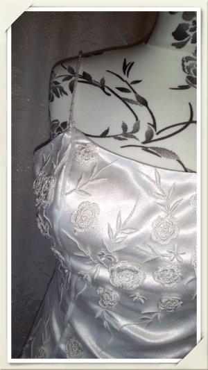 34 traumhaftes weißes Hochzeitskleid Abendkleid