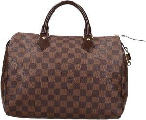 34513 Louis Vuitton Speedy 30 Damier Ebene Canvas Tasche, Handtasche, Henkeltasche