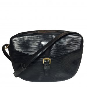 34839 Louis Vuitton Jeune Fille Epi Leder Schwarz Handtasche, Umhängetasche