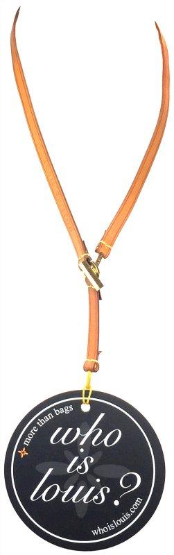 Louis Vuitton Collier bruin Leer