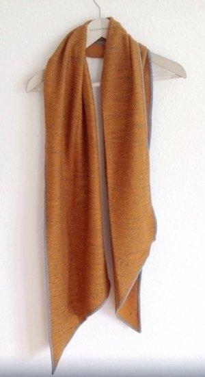35€ Lagenlook Esprit Schal Tuch Orange Terrakotta Yoga Baumwolle Hare Krishna