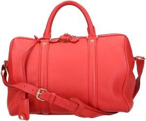 35088 Louis Vuitton Coppola SC Handtasche Schultertasche aus Leder in Rot