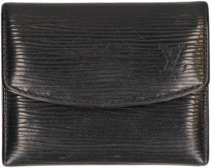 35606 Louis Vuitton Porte-Monnaie Simple Geldbörse, Portemonnaie aus Epi Leder in Noir Schwarz