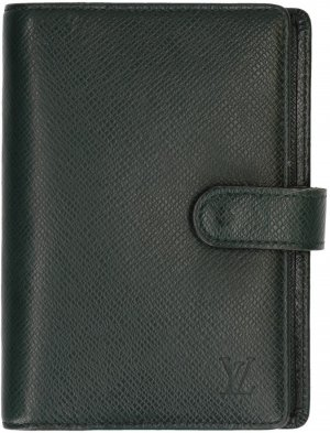 35725 Louis Vuitton Agenda Fonctionnel PM aus Taiga Leder in Epicea