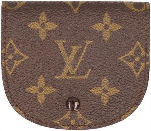 35764 Louis Vuitton Porte-Monnaie Gousset aus Monogram Canvas Geldbörse, Portemonnaie