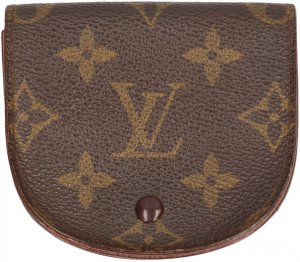 35766 Louis Vuitton Geldbörse Porte-Monnaie Goussest aus Monogram Canvas