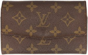 35794 Louis Vuitton Geldbörse Porte-Monnaie Zip aus Monogram Canvas