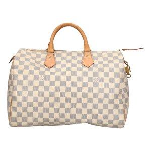 35801 Louis Vuitton Speedy 35 aus Damier Azur Canvas Tasche, Handtasche