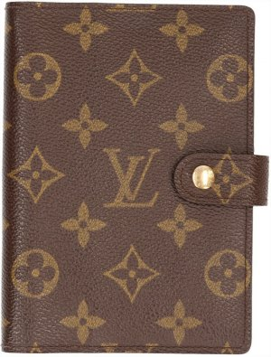 35810 Louis Vuitton Agenda Fonctionnel PM aus Monogram Canvas