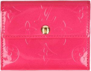 35889 Louis Vuitton Ludlow Geldbörse, Portemonnaie aus Monogram Vernis Leder in Pink