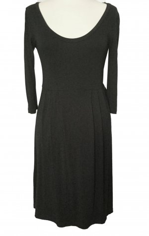 H&M vestido de globo negro Algodón