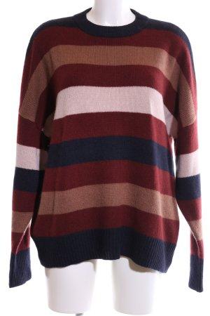 360Cashmere Cashmere Jumper striped pattern casual look
