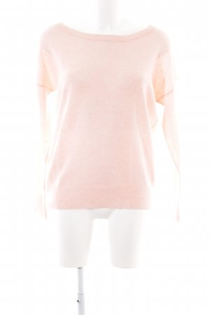 360Cashmere Kraagloze sweater roze casual uitstraling