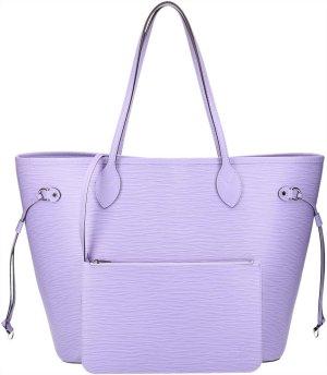 36382 Louis Vuitton Neverfull MM Epi Leder Lilas Handtasche, Tasche