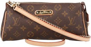 36459 Louis Vuitton Pochette Eva Monogram Canvas Tasche, Handtasche
