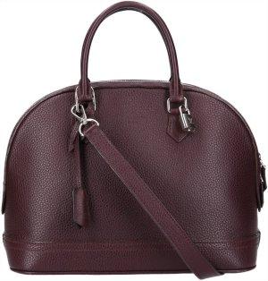 36484 Louis Vuitton Alma PM Henkeltasche, Handtasche mit Schulterriemen aus Taurillion Leder in Quetsche