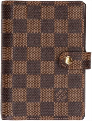 36506 Louis Vuitton Agenda Fonctionnel PM Damier Ebene Canvas Terminplaner