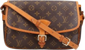 36584 Louis Vuitton Sologne Monogram Canvas Tasche, Handtasche, Umhängetasche