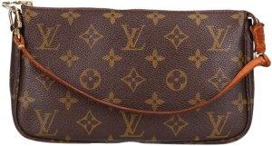 36590 Louis Vuitton Pochette Accessoires Monogram Canvas Tasche, Handtasche, Clutch