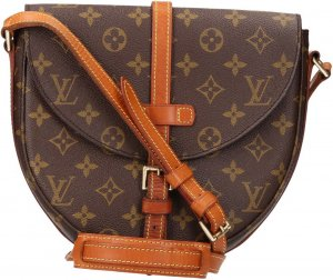 36591 Louis Vuitton Chantilly MM Monogram Canvas Tasche, Handtasche, Umhängetasche