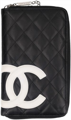 Chanel Portefeuille multicolore cuir