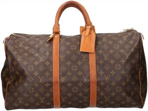 36628 Louis Vuitton Keepall 50 Monogram Canvas Tasche, Reisetasche, Weekender