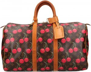 36629 Louis Vuitton Keepall 45 Monogram Cerieses Canvas Reisetasche, Weekender