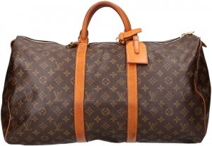 36632 Louis Vuitton Keepall 50 aus Monogram Canvas Reisetasche, Weekender
