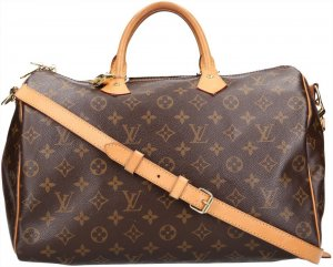 36654 Louis Vuitton Speedy 35 Monogram Canvas Handtasche, Henkeltasche